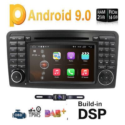 Android 9.0 DAB+Autoradio Navi Canbus für Mercedes Benz ML/GL-Klasse W164 X164