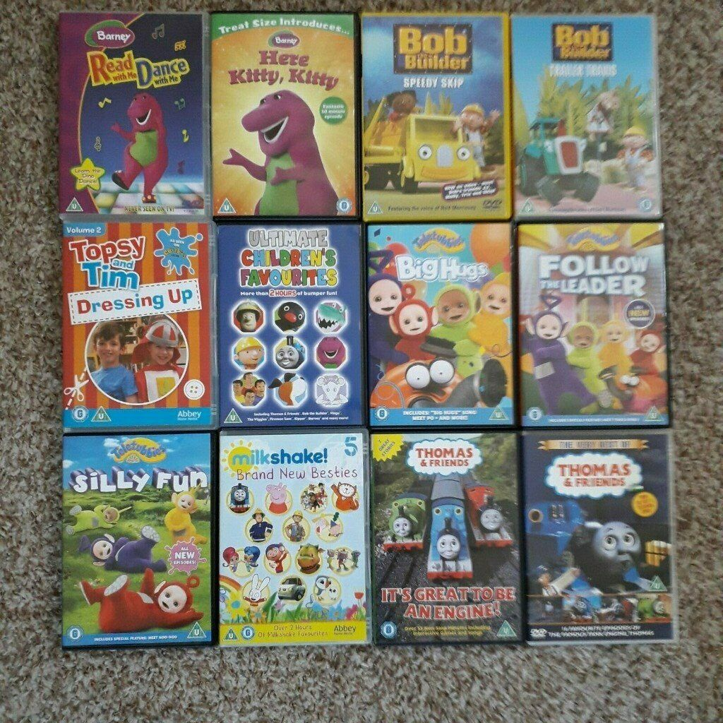 Children's TV Series DVD Bundle (12 DVDs) | in Bargoed, Caerphilly | Gumtree