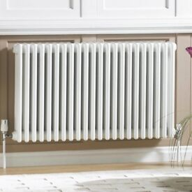 ACOVA CLASSIC 3-COLUMN HORIZONTAL RADIATOR WHITE 600 X 1226MM
