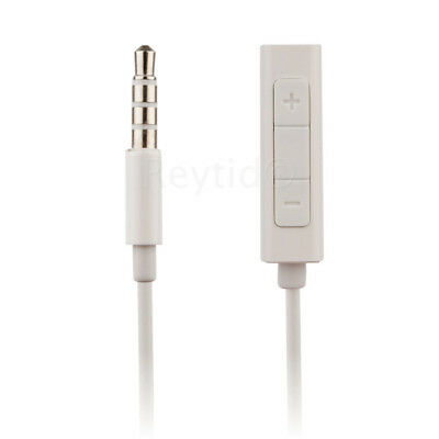 In-Line Remote Adapter for iPod Shuffle / Nano w/ Volume Control Headphone Cable