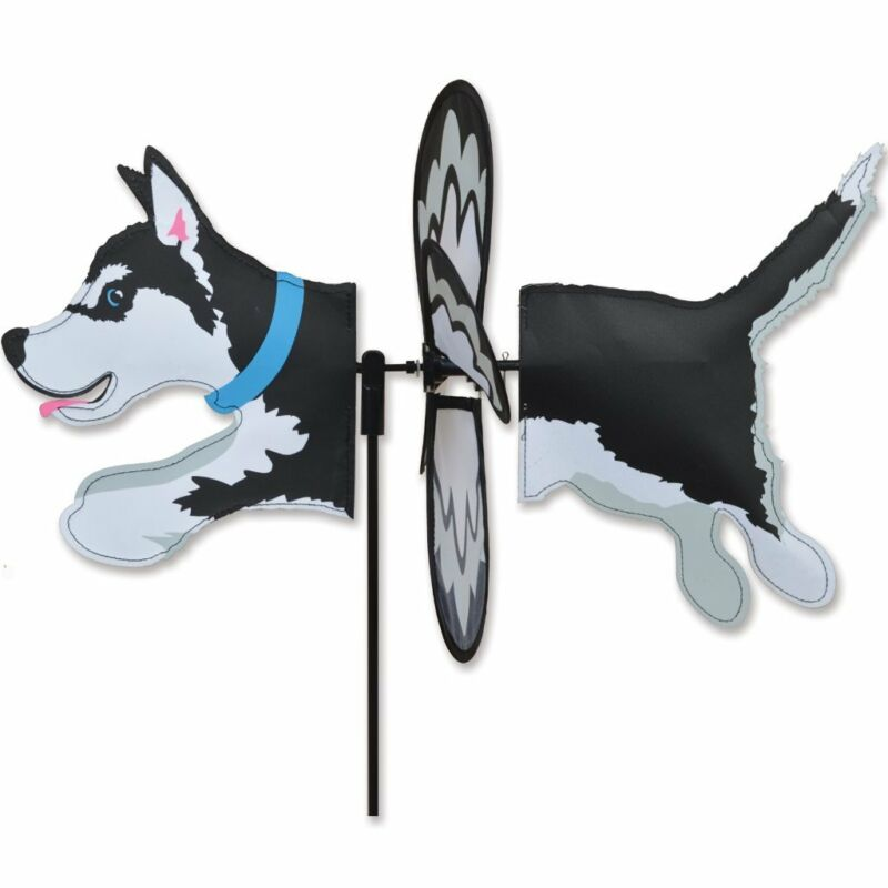 Husky Garden Wind Spinners