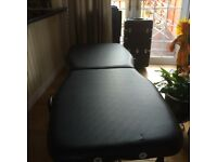 Massage & Beauty Table Black