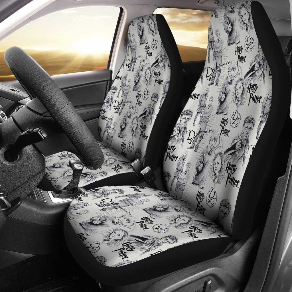 Harry Potter Car Car Seat Covers, Movie Cover Seat A121013  - $46.99