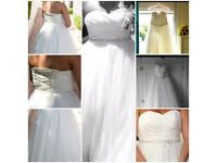 Wedding Dress fits UK 16 £150