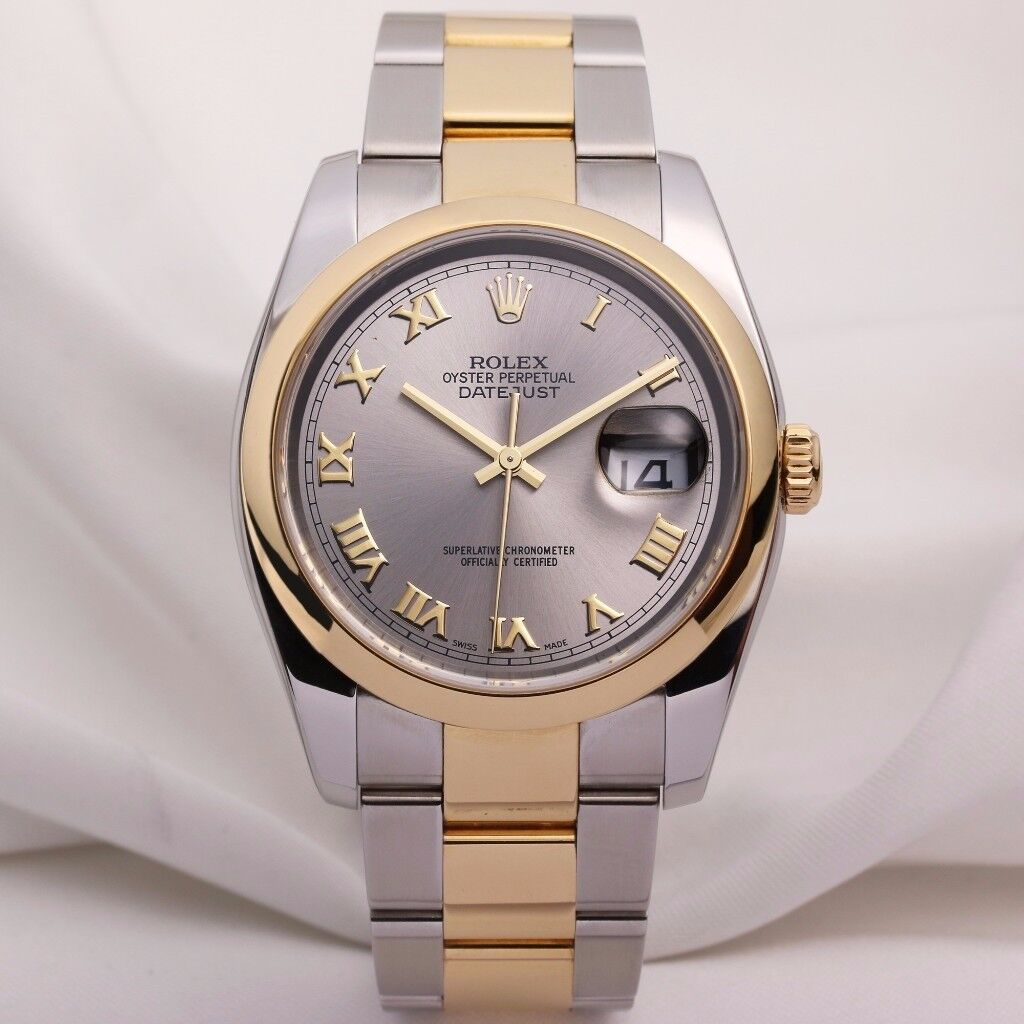 Rolex DateJust 116203 Steel & Gold 36MM 2006 MENS WATCH 100% GENUINE BRAND NEW IN BOX £5200