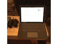 Microsoft Surface Pro 3 - Core i5, 8GB RAM, 256GB SSD, Keyboard, 2x AC Adapters