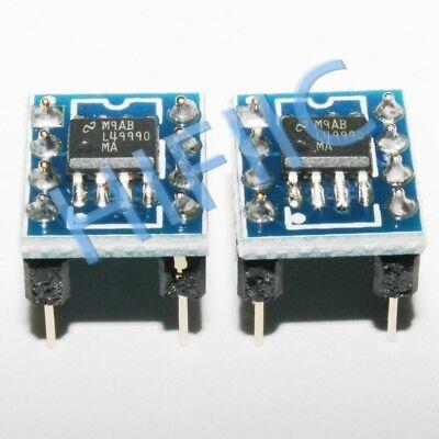 1pcs Lme49990ma On Soic Dip Adapterdip8 Socket