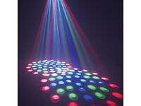American DJ Reflex LED DMX Dual Mirrored Moonflower Disco Lighting Effect