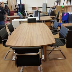 Brand new and boxed boardroom conference meeting table in