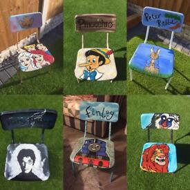 Pinocchio children's chair