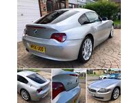 2006 BMW Z4 coupe. 3.0si manual. 61k miles. HPI clear. £9,750