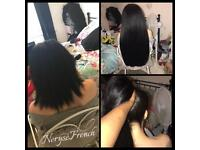 Mobile Hairdresser Based in Brighton/East Sussex-Hair Extension Fittings! LA Weaves, Micro ex & more