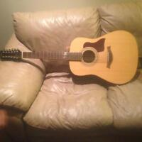 SX Custom 12 String Guitar with Case