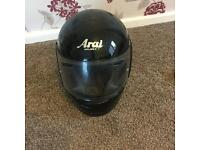 New arai black small helmet