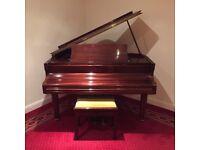 Marshall and Rose Baby Grand Piano