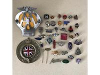 Car, motorcycle, automotive badge and Lapel pins very rare