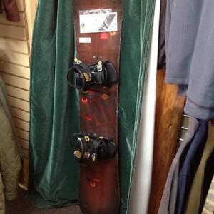 Sims snowboard w/bindings -Destiny. 154 cm (sku: Z 14092)
