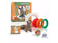 Litter Kwitter Cat / kitten Toilet Training System