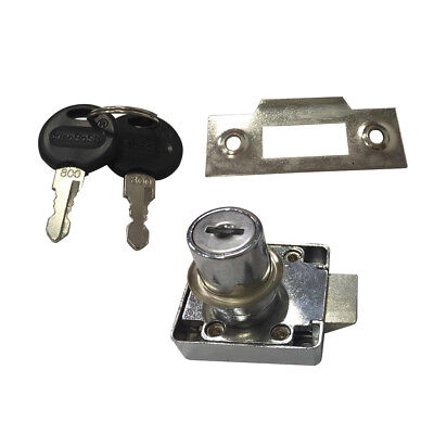 17.5mm x 25mm Thread Cabinet Mailbox Drawer Quarter Turn Cam Lock H1Y3