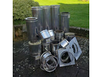 Poujoulat Therminox TI stainless steel flue pipe system