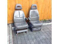 VW T4/Chrysler seats.