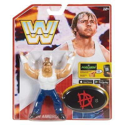 Dean Ambrose Wwe Mattel Retro Series 3 Brand New Action Figure   Mint Packaging