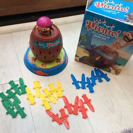 Pop up pirate TOYS GAMES