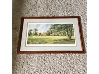 "Framed cricket print ""In my day"""