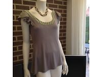 Ted Baker Top. Size 3. In Mint Condition