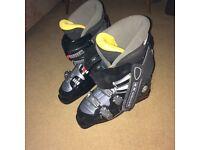 Ski boots Solomon size uk 9, European 43