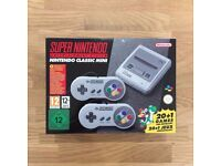 Super Nintendo Entertainment System - SNES Classic Mini - very rare - £100