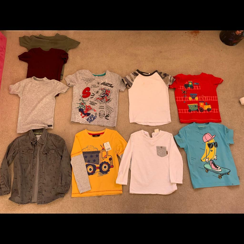 568460b54102 9 images Boys tops bundle 3-4 years next and others Hedge End ...