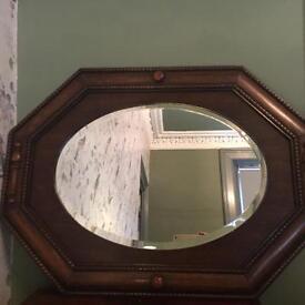 Antique Arts & Crafts mirror