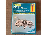 Two ford owners workshop manual