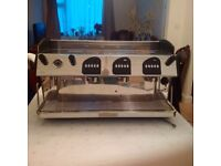 Markus 3 Group Commercial Coffee Machine and Accessories
