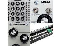 Pittsburgh Modular Synthbox Outs Verbtronic and 90hp case