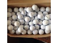 50. MIXED GOLFBALLS IN EXCELLENT CONDITION