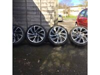 Wheels with tyres 225/40ZR 19 93W XL