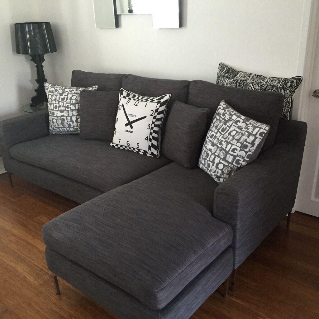 Dwell Oslo Reversible Corner Sofa Fabric
