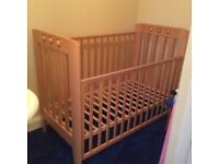 Wooden Cot Real Cot Co. Ltd Rennes Playbead