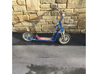 Boys Blue Scooter