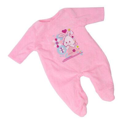 Overalls Puppenkleidung Nachthemd Outfit für Mädchen,18