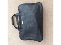 Beaugency Black Leather Front Holdall Weekend Case Cabin Travel Bag Brand new without tags.
