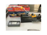 Boxed ceramic Tile cutter, with Video tape