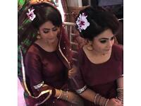 Birmingham Hairstylist for Bridal & Party Up do's. Asian bridal HairStylist . Hair Artist
