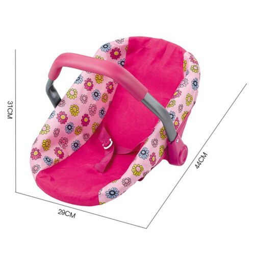 Reborn Doll Toys Doll Car Seat Infant Seat Adjustable Carrie