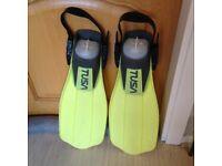 TUSA Open Heel Fins