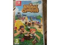 Brand new animal crossing for nintendo switch