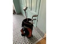 Junior kids golf clubs with bag