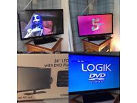 "24"" LED HD TV/DVD full HD1080p"